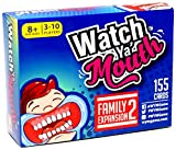 """Family (ages 8+), phrase expansion pack 2 for the authentic, hilarious mouth guard game, Watch Ya' Mouth! (Also works with other mouth guard games of course). """"Big bottom birds bumping baskets of blueberries!"""" (Try saying those while holding ..."""