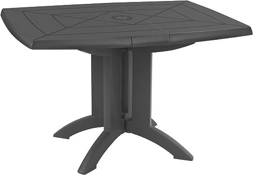 Grosfillex Table Vega 118 X 77 Anthracite 118 X 77 X 72 Cm