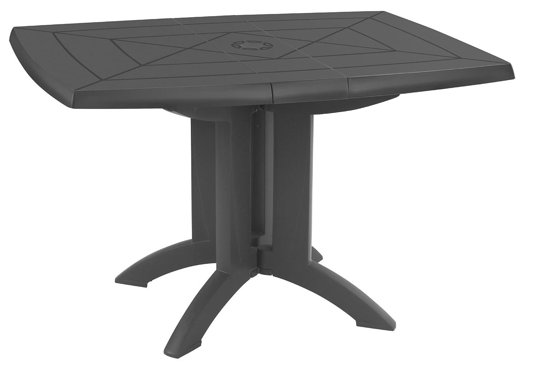 GROSFILLEX Vega tavolo 118x 77, Antracite, 118x 77x 72cm 52149002