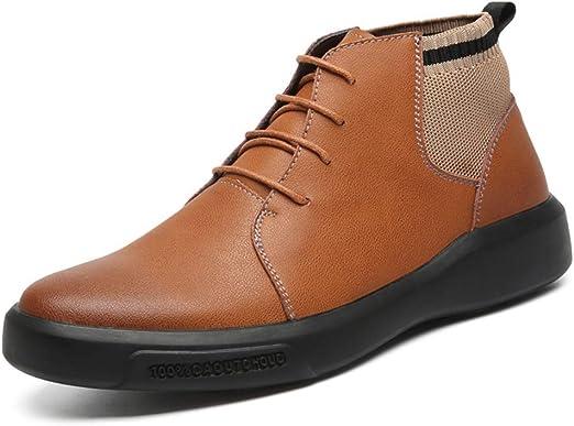 shoes Hombres Zapatos de Vestir Casuales Botines Primavera otoño ...