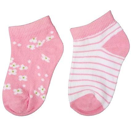 Carlomagno - Pack 2 pares calcetines bebe B303 - Talla 2 - Color Rosa