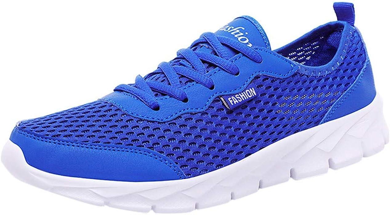 ffffd4af732d7 Amazon.com: 2019 Men Summer Shoes Breathable Casual Shoes Fashion ...