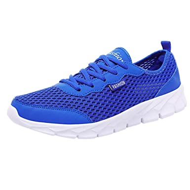 JiaMeng Zapatos Deportivos de Pareja Malla Transpirable Zapatos Casuales Estudiantes Zapatillas de Correr Deportivas Padel Transpirables Casual