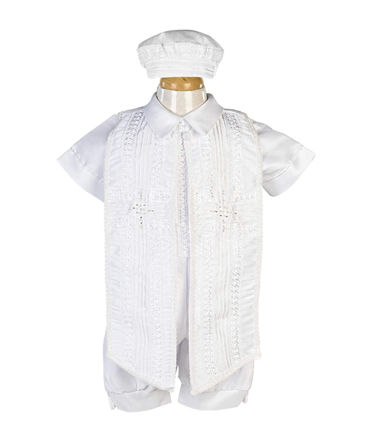 Traje De Bautizo para Nino P15//MX-544 Boys Baptism//Christening Gown