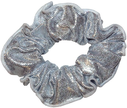 Silver Fig (Silver White Mystique Hair Scrunchie)