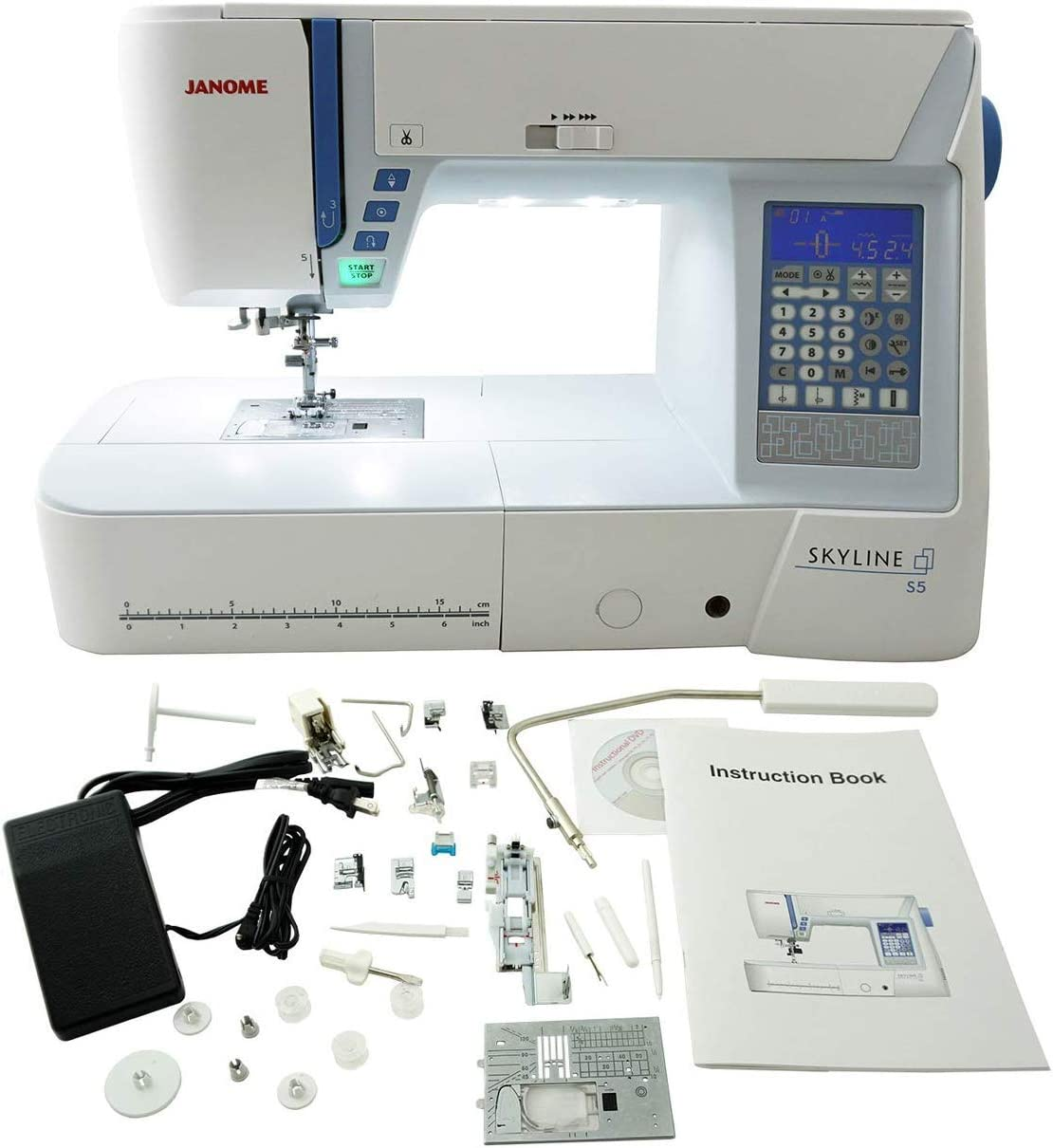 Janome S5 Computerized Sewing Machine