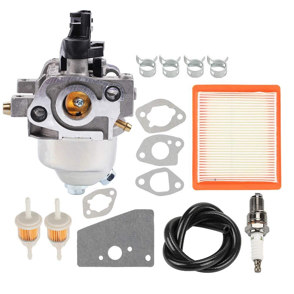 Mckin 14 853 49-S 14 853 36-S Carburetor for Kohler XT650 XT675 XT149 XT173 XT6.5 XT6.75 Engine Toro Lawn Mower with 14 083 15-S 14 083 16-S Air Filter Spark Plug Tune Up Kit