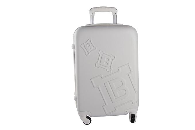 Laura Biagiotti Maleta rígida blanco mini equipaje de mano ryanair 4 ruedas VS68