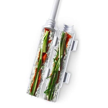 Sushi bazooka by Sushedo. Sushi making kit - Sushi roller maker   Sushi tube machine