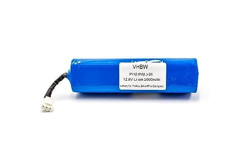 vhbw Li-Ion batería 2600mAh (12.8V) para robot autónomo de limpieza Philips