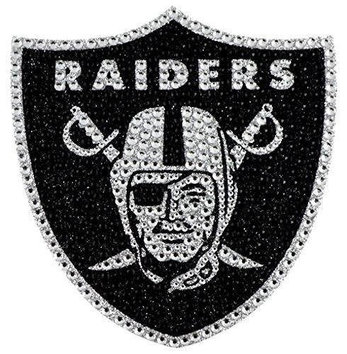 Hall Of Fame Emblem - Oakland Raiders Bling Auto Emblem