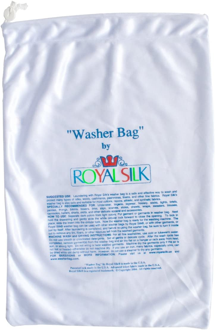 Royal Silk Large Laundry Bag for Silks and Fine Washables