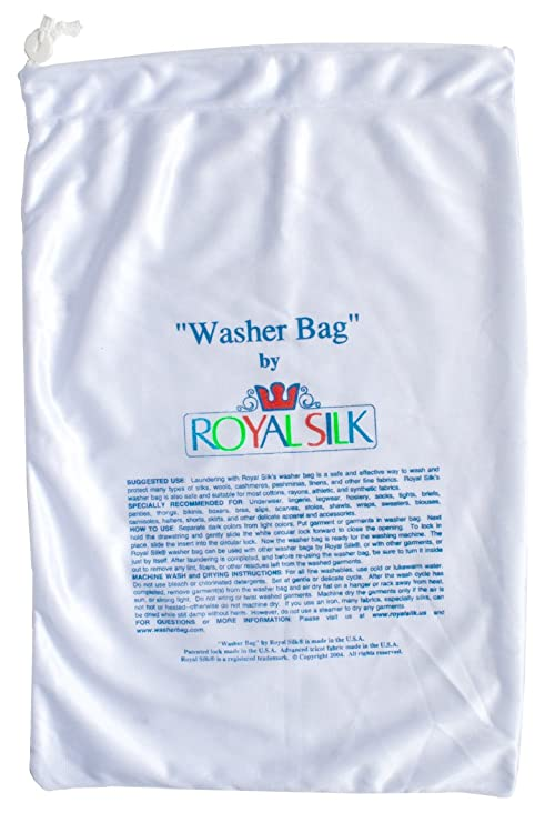 Amazon.com: Lavandería Bolsa Grande para Silks por Royal ...