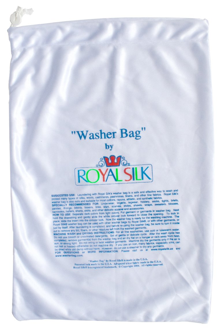 Large Laundry Bag for Silks and Fine Washables by ROYAL SILK