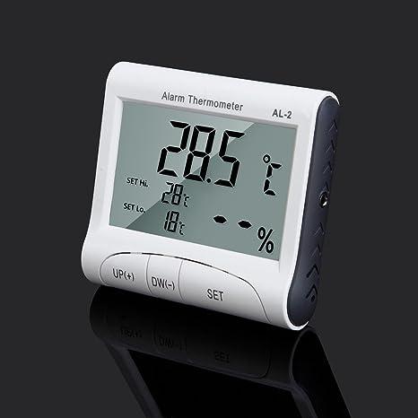 Webla - Termómetro AL2 LCD temperatura digital humedad ...