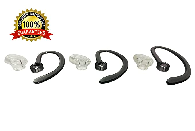 2 Small REPLACEMENT SPARE EARHOOKS EAR HOOK LOOP For PLANTRONICS CS540 Fit Kit
