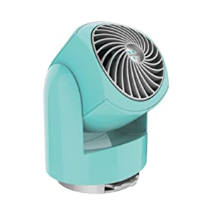 Vornado Flippi V6 Personal Air Circulator Fan, Bliss Blue