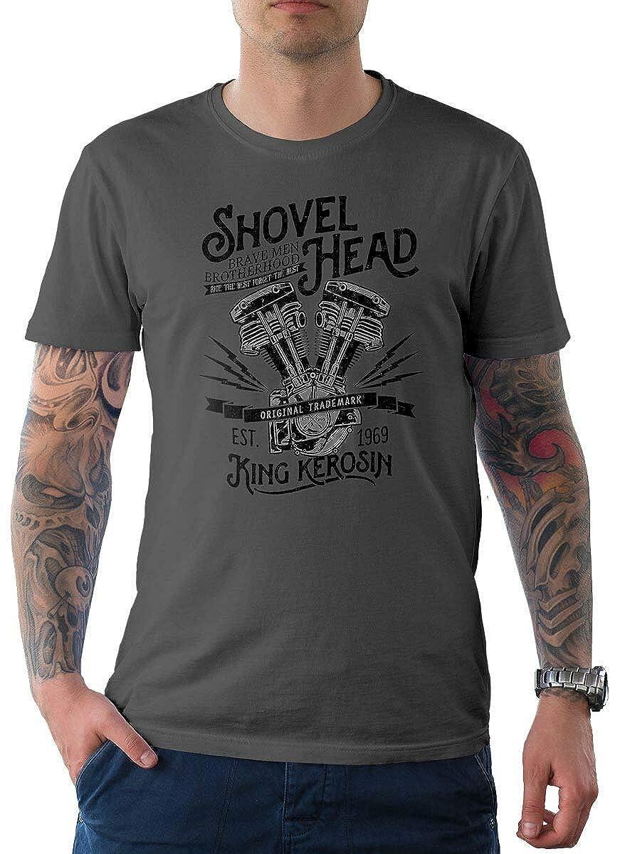 King Kerosin Herren T-Shirt Tee Shovel Shovel Shovel Head B07P2XWT8N T-Shirts Zu verkaufen 658418