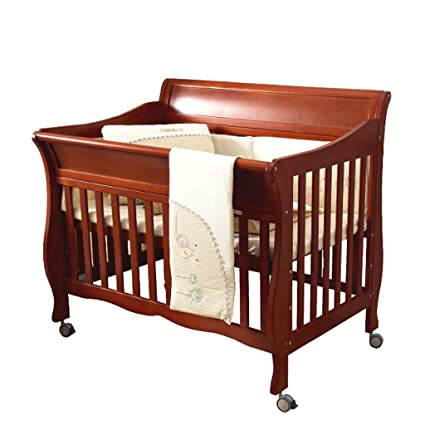 cama de cuna Cuna de bebé empalme de cama de madera maciza estilo europeo Cuna de