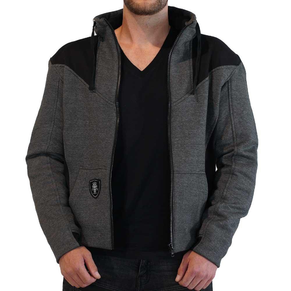 Meyer Clothing Motorrad Hoodie Compton Hood Kapuzenpullover Zipper
