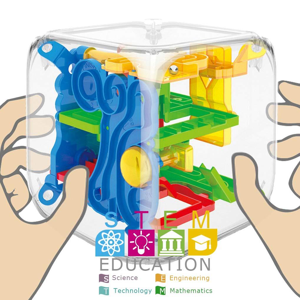 GuDoQi 3D Laberinto de Bolas de Juguete Puzzle, Juego de ...
