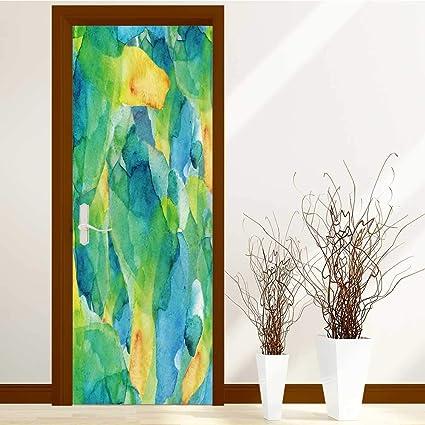 Amazon Com Scocici1588 Modern Door Art Vinyl Decals Hand