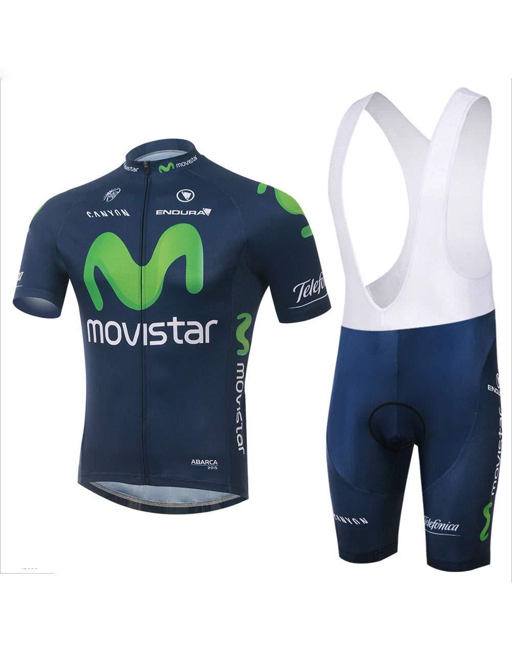 Fonly Tuta Ciclismo A Maniche Corte Traspirante Quick Dry da Uomo E da Donna