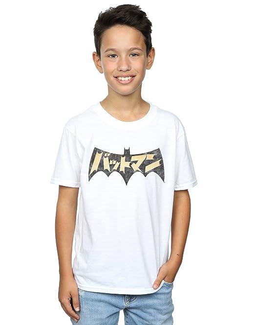 8820c8234 DC Comics niños Batman International Logo Camiseta  Amazon.es  Ropa y  accesorios