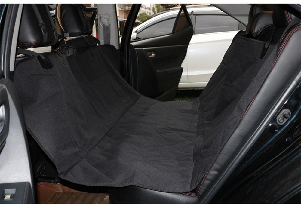 L Dog Seat Cover for Cars Waterproof Nonslip Backing with Seat Anchors Travel Car Seat Cover Rear Seat Predector ZD-0127, l