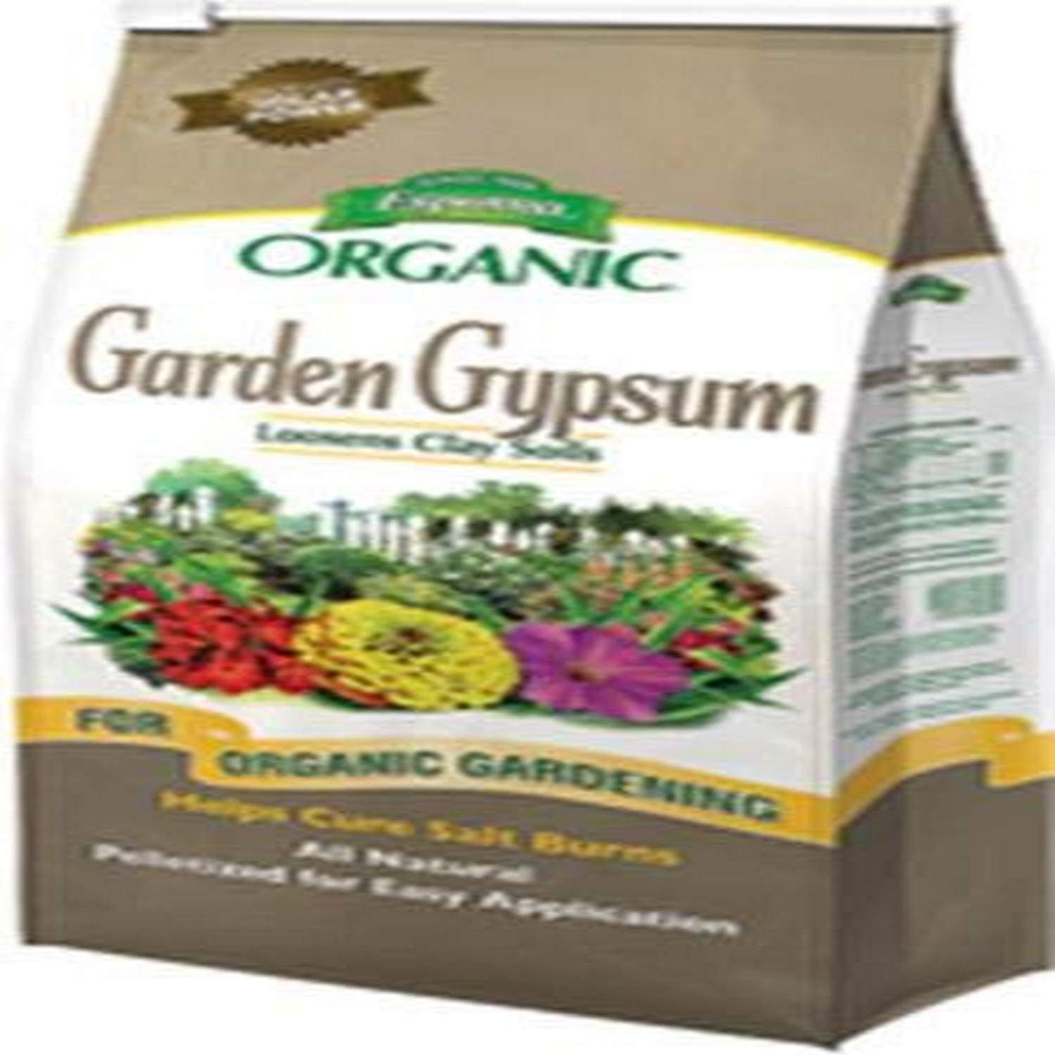 Espoma GG36 Garden Gypsum Soil Conditioner, 36-Pound