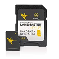 Humminbird 600013-6 LakeMaster Dakotas + Nebraska V6 Digital GPS Maps Micro Card
