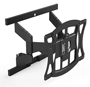 suncraft tv wall mount ultra slim full motion mount optimized for samsung curved television 40u0026quot