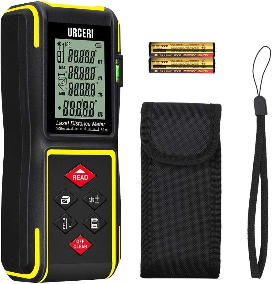 Télémètre laser numérique 60M instrument de mesure portatif FR STOCK