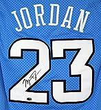 Michael Jordan North Carolina Tar Heels Signed Autographed Blue #23 Jersey