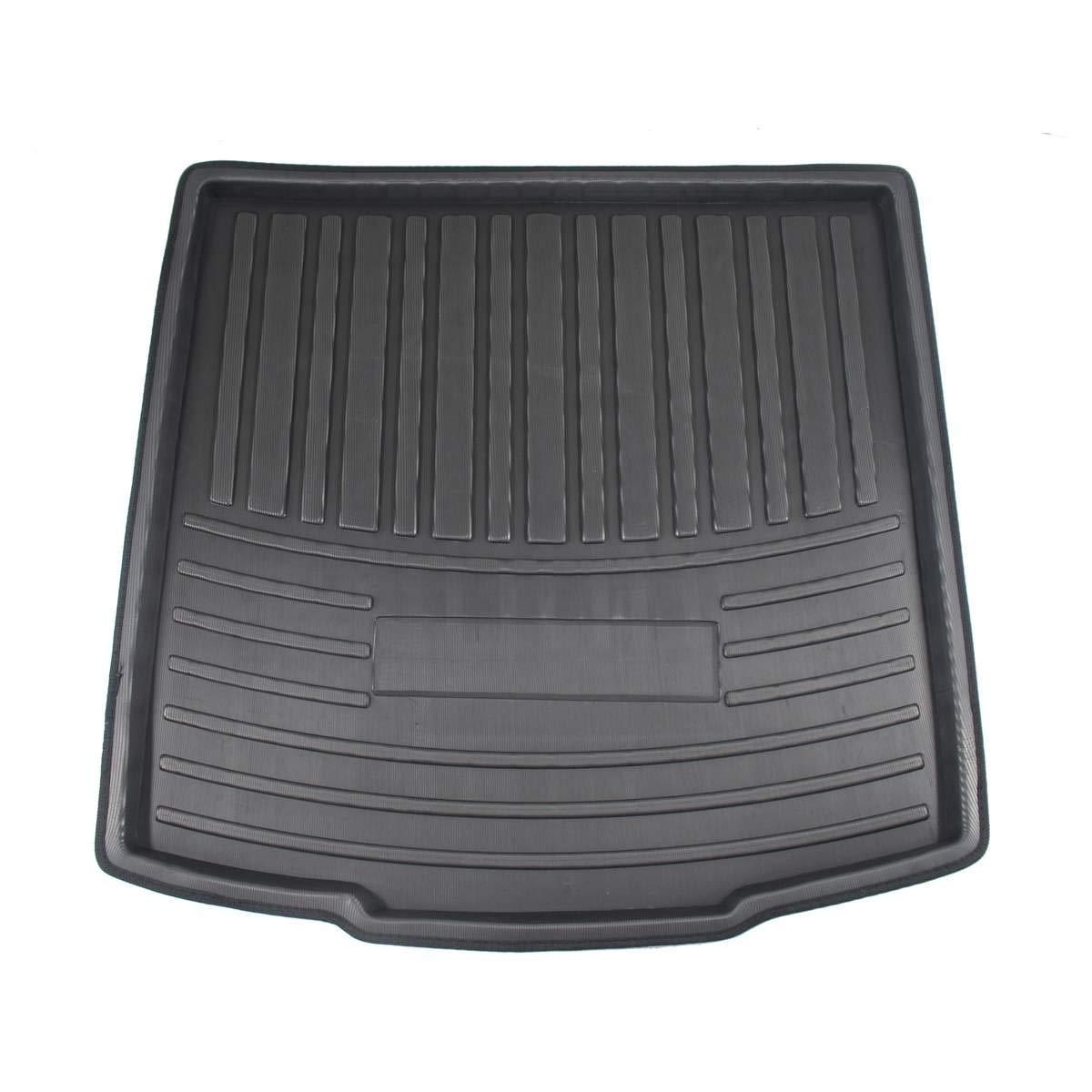 Car Cargo Liner Boot Tray Cubierta del Maletero Trasero Matt Mat Floor Carpet Kick Pad para Skoda Kodiaq 5//7 Seat Seater 2017 2018 2019