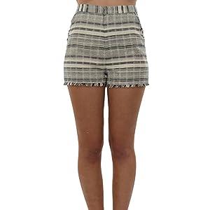 Stylestalker Willow Short in Stripe (X-Small, Stripe)