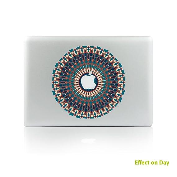 amazon com h4s night luminous removable decorative pvc macbook