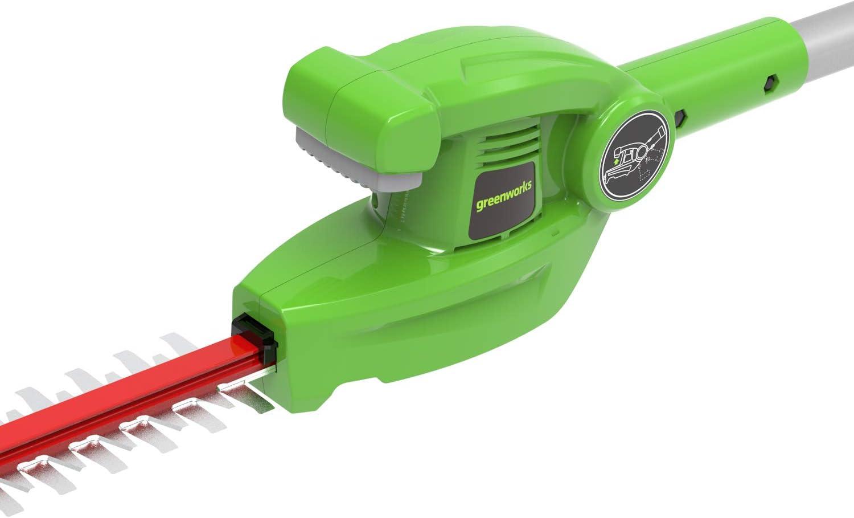 24 V Pole Hedge Cutter Greenworks Tools G24PH51K2 Trimmer 51cm