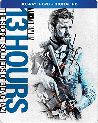 13 Hours: The Secret Soldiers of Benghazi (Steelbook) (Steelbook, Widescreen, 2 Pack, Amaray Case, Dubbed)