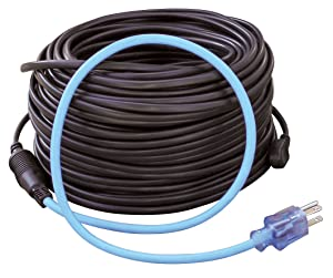 Prime Wire & Cable RHC300W60 ROOF & GUTTER DE-ICING KIT ROOF HEATING CABLE
