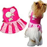 Howstar Pet Dresses, Cute Puppy Apparel Printed Dog Shirt Vest Summer Pet Costume