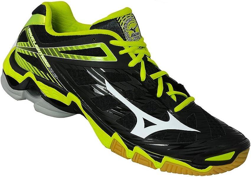 Mizuno Wave Lightning RX 3 - Zapatillas de Voleibol de Material sintético para Hombre Negro Negro