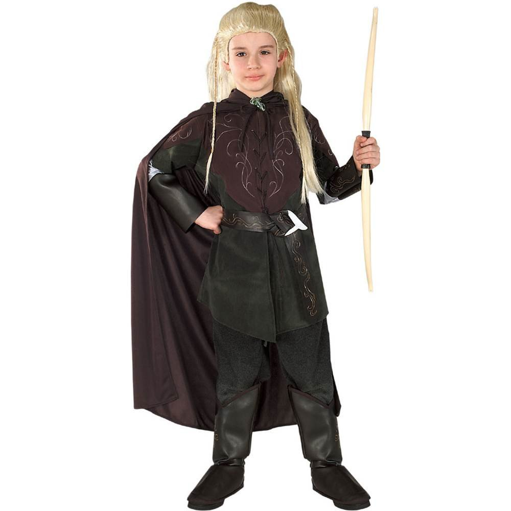 Amazon.com: Lord of the Rings Legolas Kids Costume: Clothing