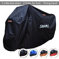 SMARCY® Housse de Protection pour Moto XXXL Noir