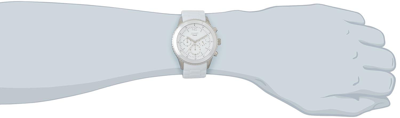 Esprit marin men ES105331010 - Reloj cronógrafo de cuarzo para hombre, correa de resina color blanco (alarma, cronómetro): Amazon.es: Relojes