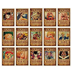 69 Stk Anime Alt compluser One Piece Wante Poster ...