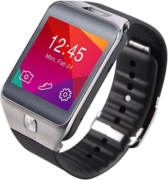 Amazon.com: G2 Bluetooth 4.0 Smart Watch with Heart Rate ...