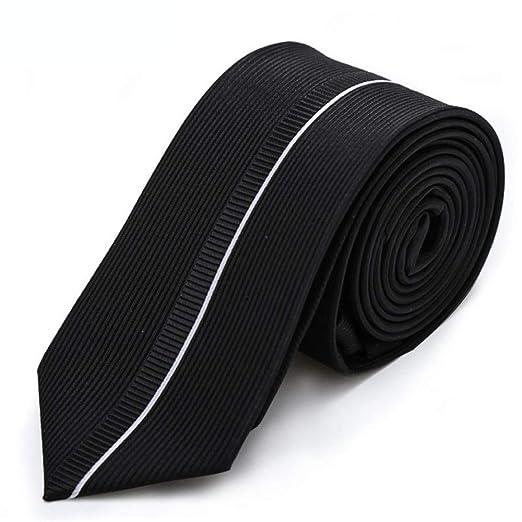 Sumferkyh 6 Cm Minimalista Poco Corbata La línea de Corbata Tie ...