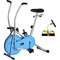 Lifeline Fitness Gym Bike 103 (Blue) for Weight Loss at Home|| Bundles with Pull Reducer Body Trimmer (Multi-Color)