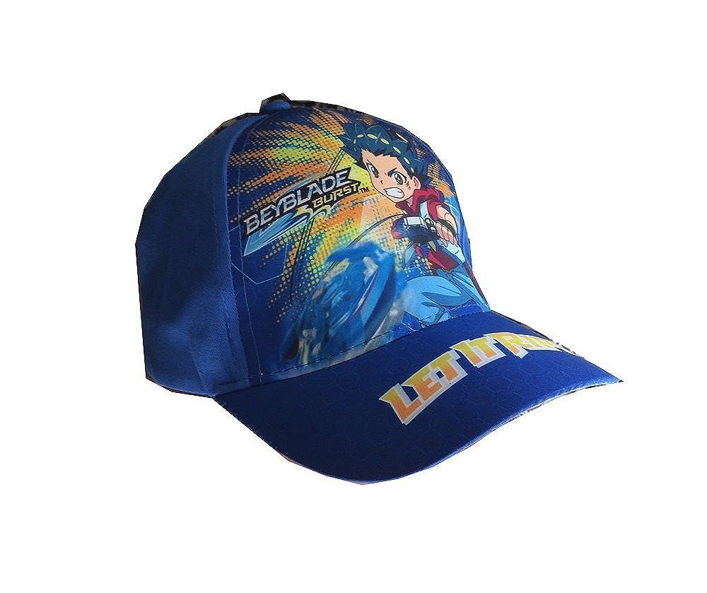 Ragazzi e Ragazze in Rosso//Blu Beyblade Burst Berretto da Baseball CAPP Cappy per Bambini